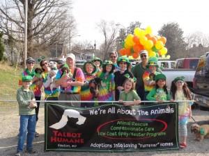 Parade fun at Talbot Humane