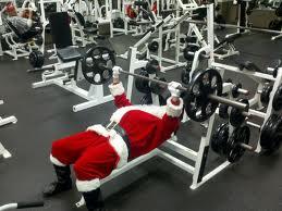 santa lifting